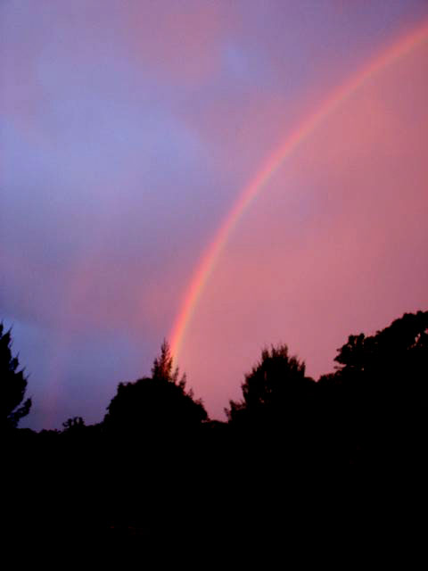 Post image for Sunset rainbow